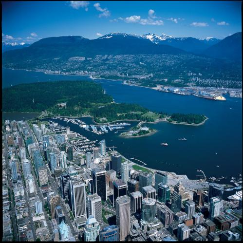 Vancouver Areal View`