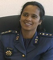 Police Chief Michelle Pretorius