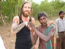 Brian Welch in India