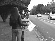 Pro Choice Protest