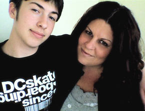 Trista Parry and her son Jess