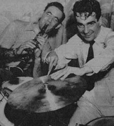 Benny Goodman and Gene Krupa in 1937