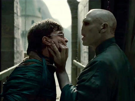 Voldemort and Harry Potter