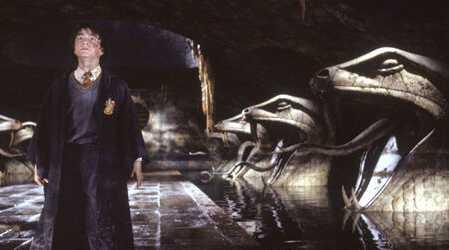 Danier Radcliffe as Harry Potter in Chamber of Secrets