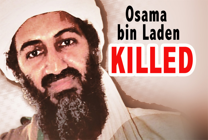 Osama Bin Laden has been killed