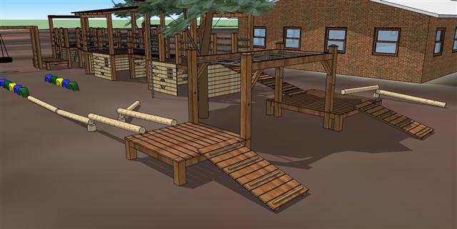 Elevation Project Rwanda Playground Impression
