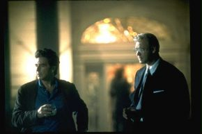"Al Pacino and Russel Crowe in a scene from ""The Insider"""