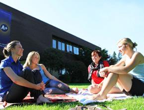 Students at Trinity Western University