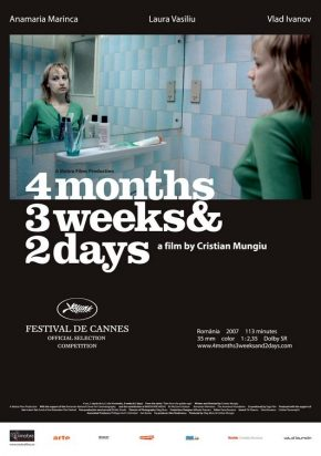 Four Months, 3 Weeks and Two Days Poster
