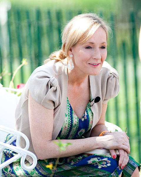 JK Rowling, author of the Harry Pottery series