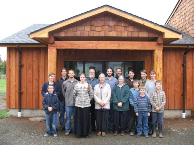 Members of the Twelve Tribes community in Courtenay BC