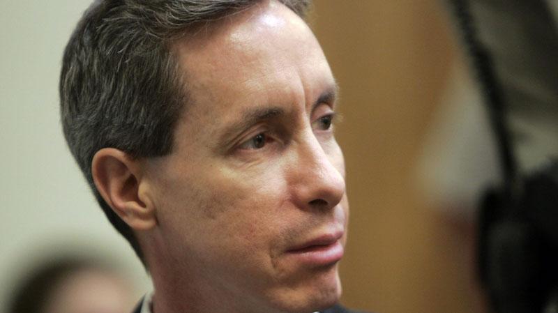 A closeup of Warren Jeffs