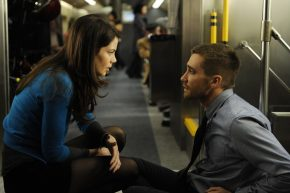Jake Gyllenhaal and Michelle Monaghan in Source Code