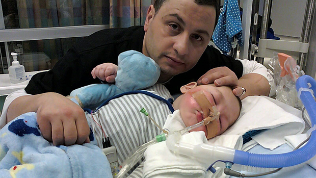 Baby Joseph Maraachli and Father