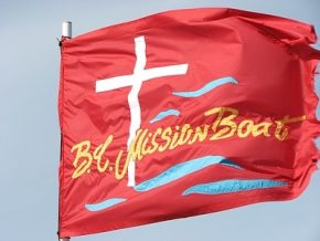 The BC Mission Boat Society Flag