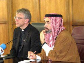 Olav Fykse Tveit and Prince Ghazi bin Muhammad of Jordan