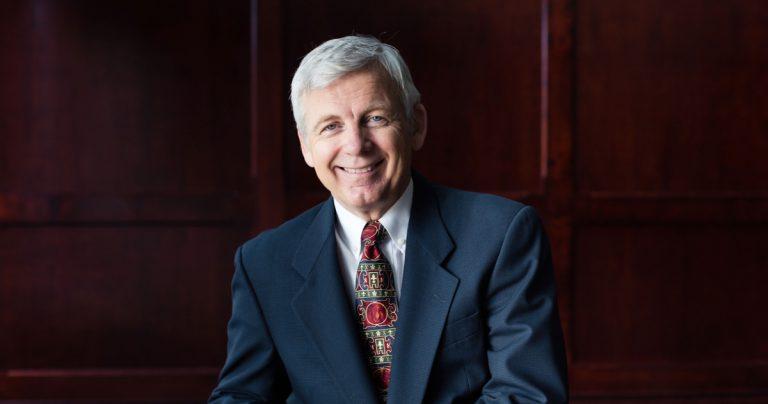 Bob Kuhn, president of Trinity Western University