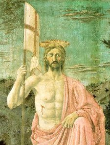 Jesus Christ after rising from the dead.