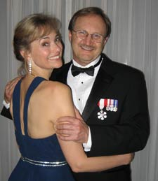 Victoria surgeon Norgrove Penny celebrates his Order of Canada award, with his wife Anne.