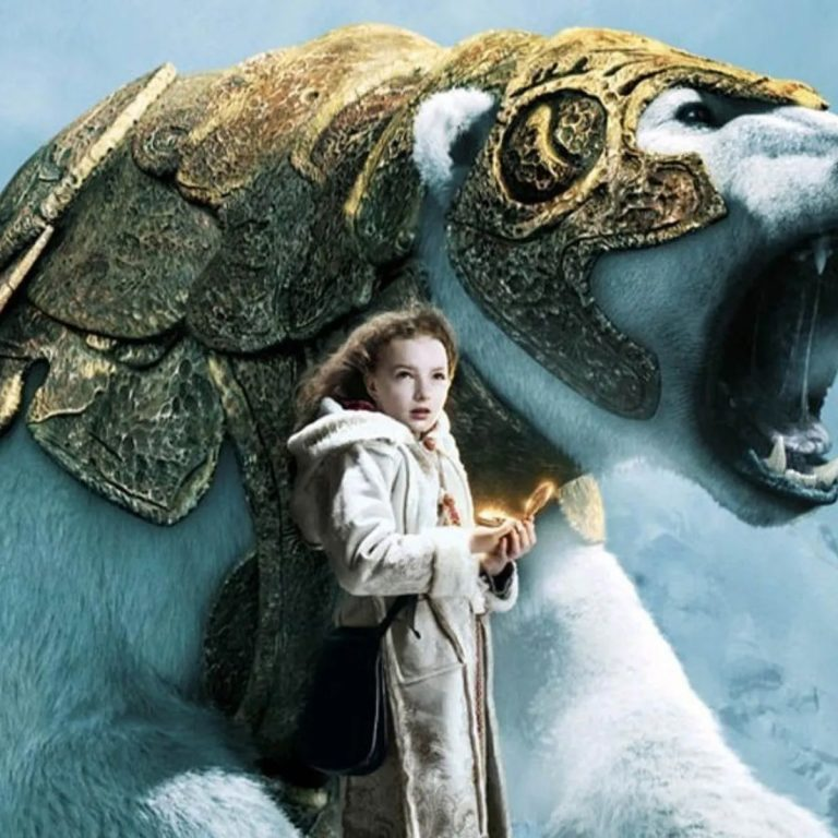 Cover from the Pullman movie - The Golden Compass